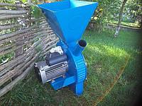 Дробилка зерновых «Урожай» — 300кг/час. для зерна и целых початков кукурузы