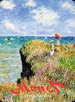 Книга открытка Клод Моне