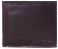Качественный мужской кожаный бумажник PAUL ROSSI (ПОЛ РОССИ), DNK0002-M-bblack