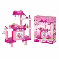 Детская кухня со стиральной машинкой 008-32