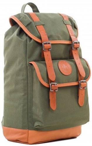 """Городской рюкзак с отделением для ноутбука 15,6"""", 17 л. Gin Vesper, khaki"""