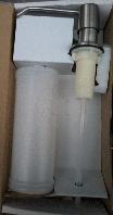 Дозатор для жидкого мыла нерж врезной для кухонной мойки