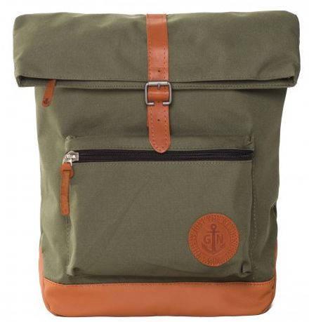 """Рюкзак с отделением для ноутбука 13 л GIN """"Лонг Айленд"""" хаки"""