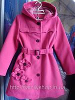 Нарядное детское весеннее кашемировое пальто на девочку  купить в Украине