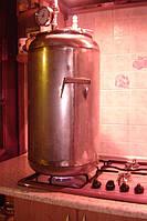 Автоклав Блеск для приготовления консервов, автоклав-стерилизатор —21 литровых банок (полированная нержавейка)