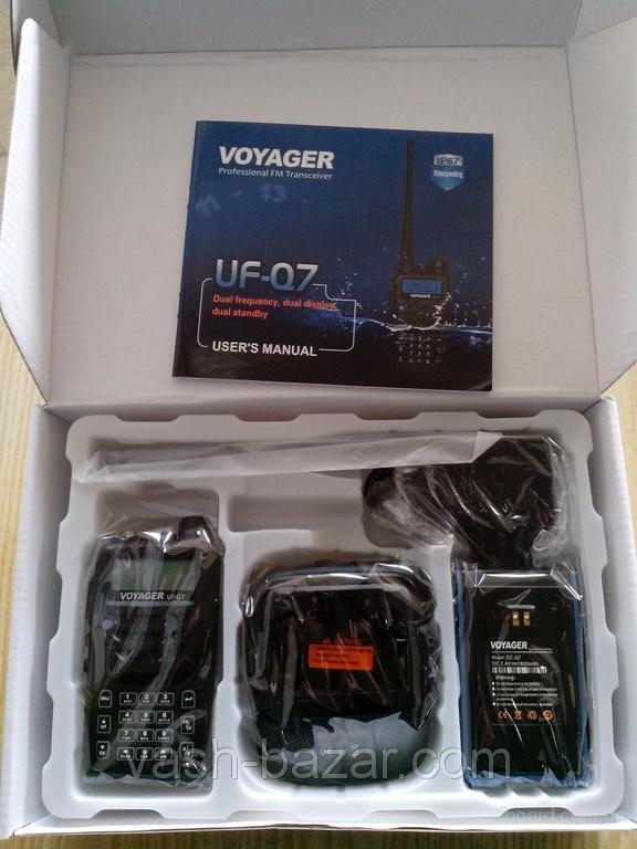 Рация IP67 Voyager инструкция, радиостанция IP67 Voyager UF-Q7,128 каналов, водонепроницаемая рация купить, куплю - фото 2