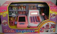 Касса детская 007 калькулятор, набор продуктов