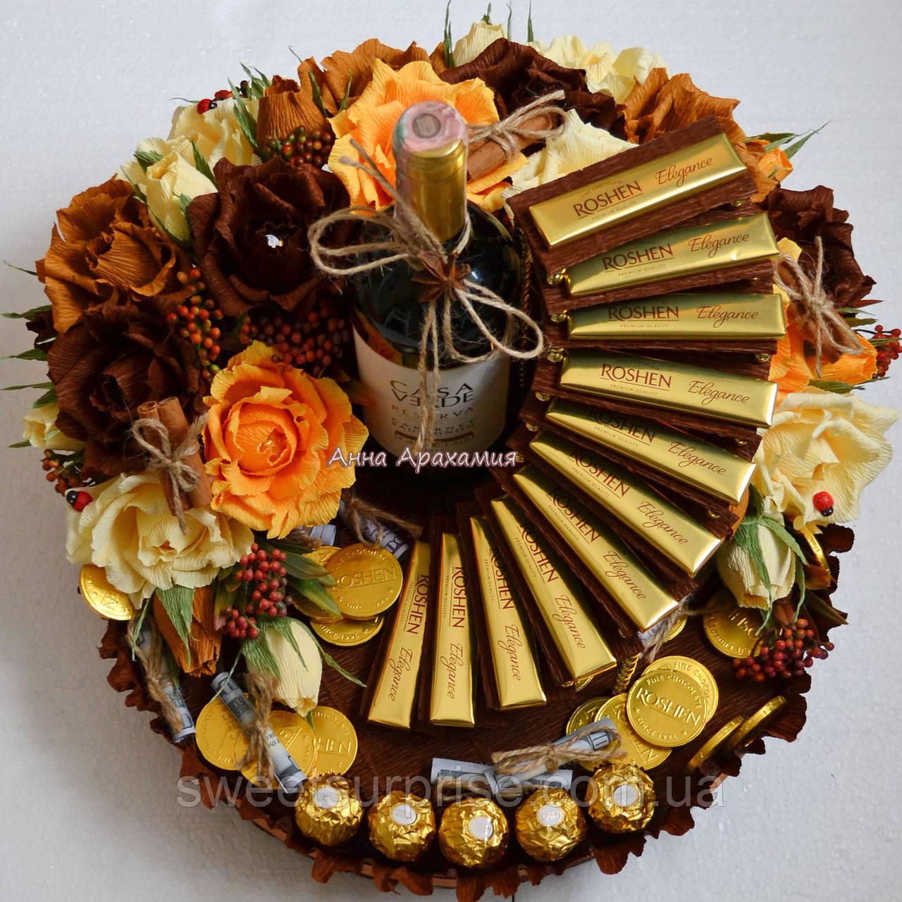Фото подарки из конфет
