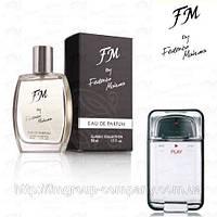 Мужская парфюмированная вода FM 208 аромат Givenchy Play (Живанши Плэй) Парфюмерия Federico Mahora
