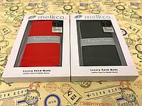 Чехол флип Melkco для Lenovo A516 чёрный красный