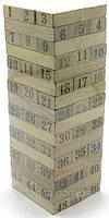 """Настольная игра """"Дженга"""" на 48 брусков (19х6,5х6,5 см.)"""