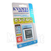 Усиленный аккумулятор KVANTA. Nokia BL-6F (N78,N95 8Gb) 1400mAh