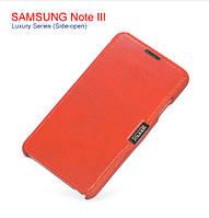 Кожаный Чехол iCarer для Samsung Galaxy Note 3