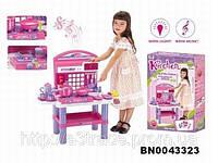 Кухня для детей с набором аксессуаров