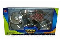 Набор посуды для кухни, металлическая
