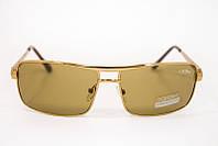 Мужские  очки с модной формой в коричневом цвете, фото 1