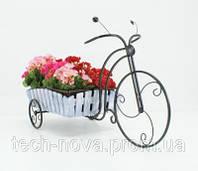 Подставка для цветов Велосипед Кантри 1 большой