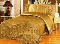 """Дизайнерское покрывало на кровать """"Королевский атлас"""""""