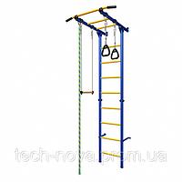 Детский спортивный комплекс Карусель 1 (сине-желтый)