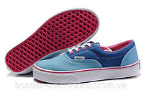 Ванс кеды Vans, голубой синий