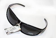 Млдные мужские очки черного цвета