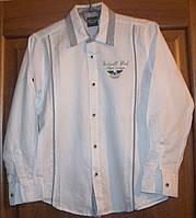 Рубашка детская приталенная 140 Турция