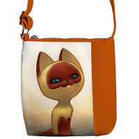 Сумка для девочки Рыжая кошка