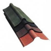 Ондулин Коньковый элемент, красный, 0,9м