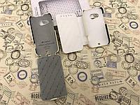 Кожаный чехол флип и чехол книжка Melkco для HTC Desire 200 белый