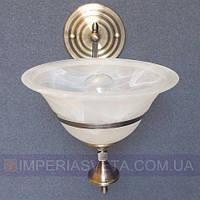 Классическое бра, настенный светильник IMPERIA одноламповое LUX-445611