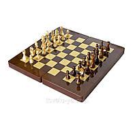 Шахматы, шашки, нарды 3в1 40*40 см