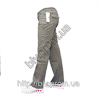 Брюки женские стрейч-коттон плотная ткань уценка AT115