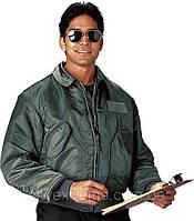 Куртка пилота  Rothco CWU-45P, цвет олива, размер S, M, L