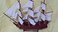 Модель деревянного парусника 75*60 см