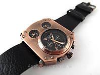 Часы мужские Alberto Kavalli в стиле Diesel steampunk, цвет бронза