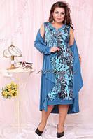 Женские платья больших размеров оптом и в розницу. Размеры 54,56,58,60,62