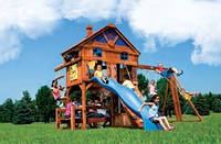 Детская площадка игровая из дерева «SUNRAY»