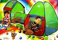 Детская игровая палатка с тоннелем 999-143