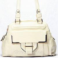 Женская сумка Gilda Tohetti светло - бежевая