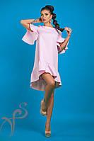 Платье с воланами Надин 16529 R