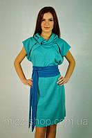 Купить женское трикотажное платье-сарафан. Платье Доминика.