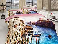 Комплект постельного белья First choice  3D сатин VENEDIK Двуспальный Евро Культура народов мира