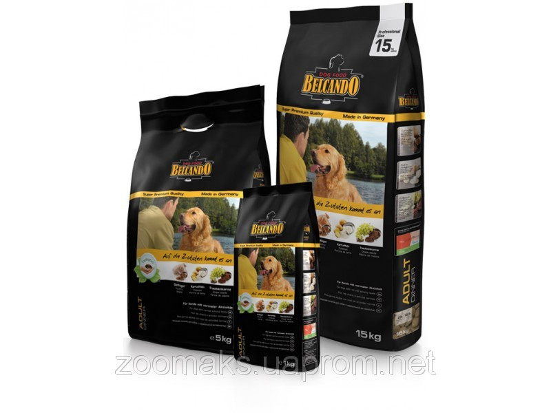 Корм BelcandO Adult Dinner 15kg для собак 553325