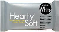Hearty Soft 200г материал для лепки цветов, цвет белый. Харти Софт.
