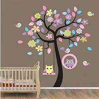 Наклейки разноцветные декор на стену в детскую