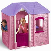 """Игровой домик """"Добро пожаловать"""" Little Tikes розовый"""