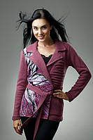 Пиджак женский вязаный