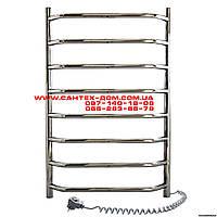 Полотенцесушители и радиаторы Navin электрический полотенцесушитель Блюз(лесенка) 450*800/8полок нерж
