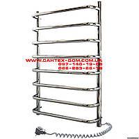 Полотенцесушители и радиаторы Navin электрический полотенцесушитель Симфония(лесенка) 450*800/8полок нерж