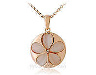 Колье «Цветение сливы», кристаллы Сваровски, покрытие золотом, украшения, купить